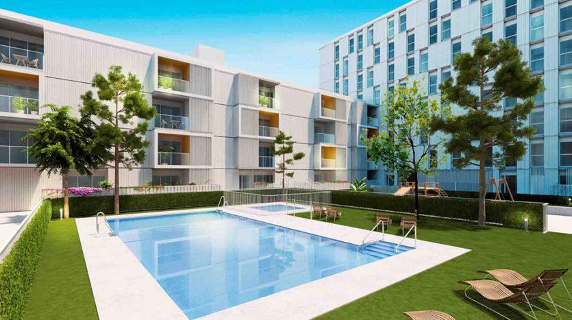 Habitat Jardines del Este - obra nueva en sevilla
