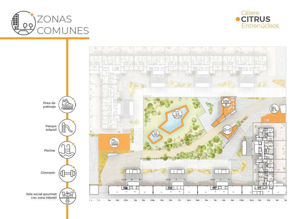 Plano general zonas comunes