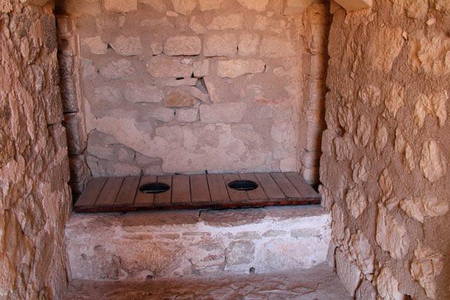 cuarto de baño historia castillo en en jaén