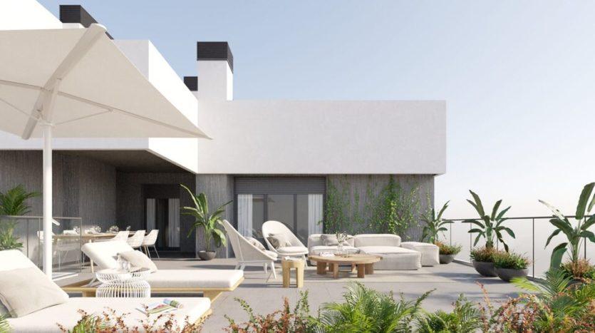 Residencial Mulhacen - obra nueva en Sevilla
