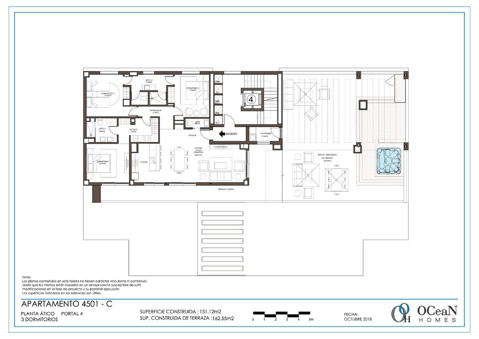 3 Dormitorios Ático