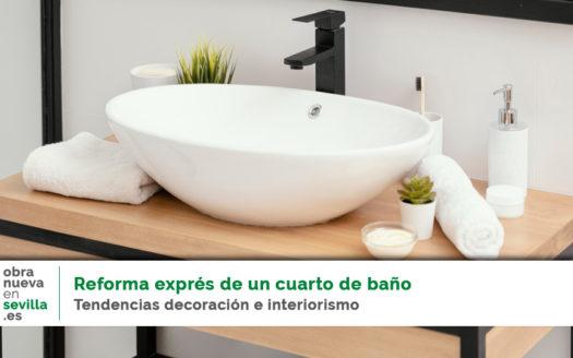reforma exprés cuarto de baño